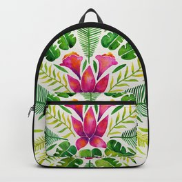 Tropical Symmetry – Pink & Green Backpack