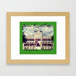 Iolani Palace Framed Art Print
