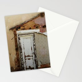 Unidimensional house Stationery Cards