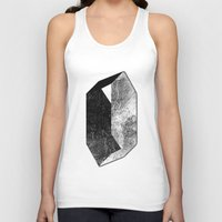 mineral Tank Tops featuring Moon Mineral by Mood/Wood