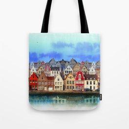 House, Bruges, Belgium Tote Bag