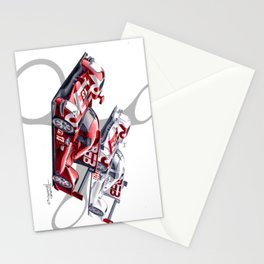 Rebellion Racing Stationery Cards