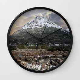 Mountains of Scotland - Isle of Skye Wall Clock