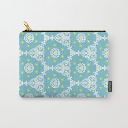 Lacy Blue Carry-All Pouch