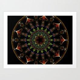 Nine of Petals Art Print