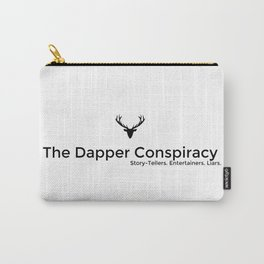 Simple Logo Black Carry-All Pouch