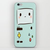 bmo iPhone & iPod Skins featuring BMO by I3uu