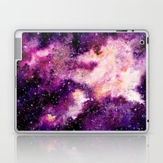 Purple Galaxy 01 Laptop & iPad Skin