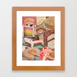 Its My Party Framed Art Print