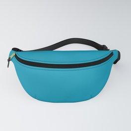 Bondi Beach Blue - Bright Blue Fanny Pack