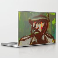 police Laptop & iPad Skins featuring Police by Steeze Abiola