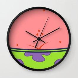 Funny Patrick Star  Wall Clock