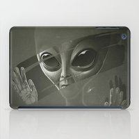 alien iPad Cases featuring Alien by Dr. Lukas Brezak