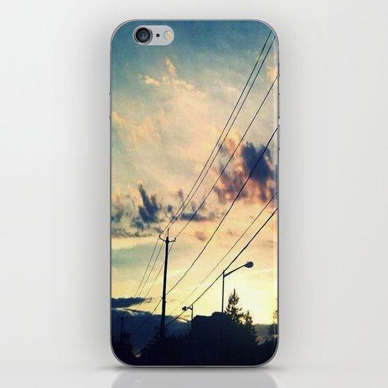 Petworth at Sunset (Washington, DC) iPhone & iPod Skin