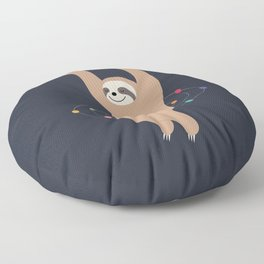Sloth Galaxy Floor Pillow