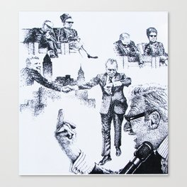 Politics Unveiled Canvas Print