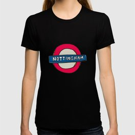 tube sign T-shirt