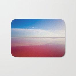 Pink ocean Bath Mat