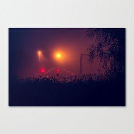 Holme Wood Crossing Canvas Print