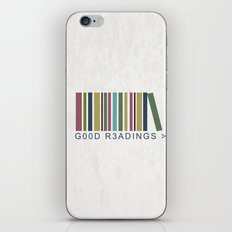 Good Readings are priceless iPhone & iPod Skin