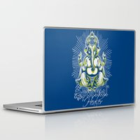 spiritual Laptop & iPad Skins featuring Spiritual healer  by Tshirt-Factory