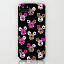 Happy Donuts - magic, mouse, donuts, theme park, donut, happy iPhone Case