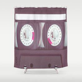 CASSETTE CHARMING Shower Curtain