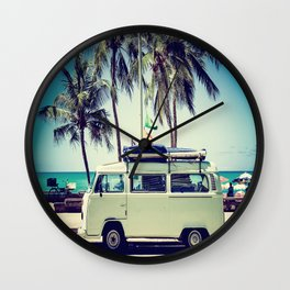 Caravan Life Wall Clock