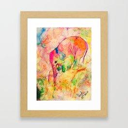 Nellie the elephant-1 Framed Art Print