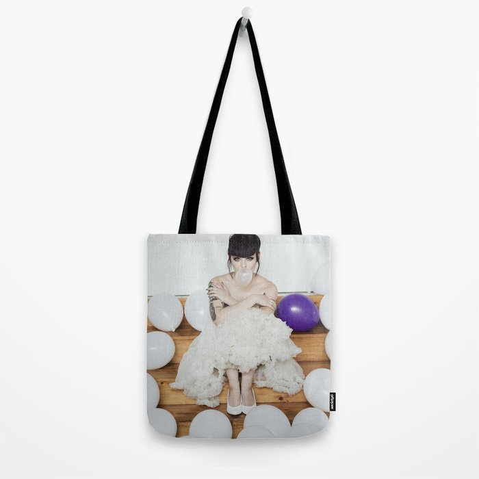 Vintage bubble Tote Bag