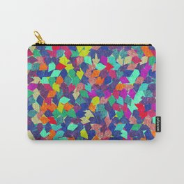 Colorful Geometric Pattern #10 Carry-All Pouch