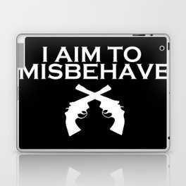 Aim to Misbehave V2 Laptop & iPad Skin