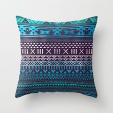 Azzurro | Tribal Throw Pillow