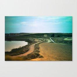 Journey landscape Canvas Print