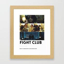 Fighter Club Framed Art Print