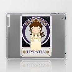 Kokeshi Philosopher Hypatia of Alexandria (Agora) Laptop & iPad Skin