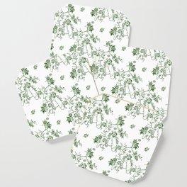 Penis Pattern GREEN Coaster