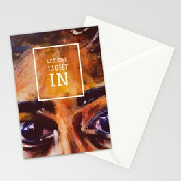 The light in Stationery Cards