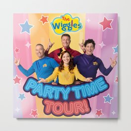 the wiggles party time 2020 Metal Print