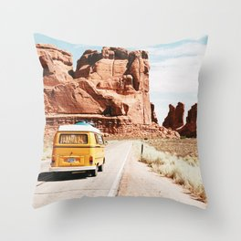 Van Life / Utah Throw Pillow