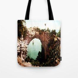 Secret Cove Vintage Seascape Tote Bag
