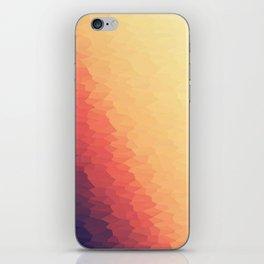 Orange Peach Ombre iPhone Skin