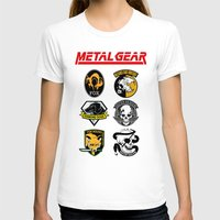metal gear T-shirts featuring Metal Gear by Khaled