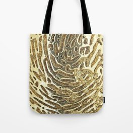 Gold, gold pattern,wood texture Tote Bag