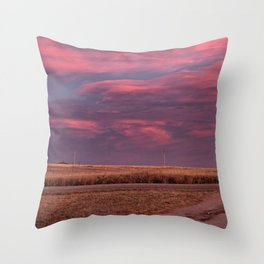 East of Sunset Throw Pillow