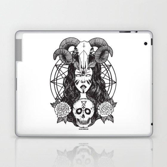Satanic Princess Laptop & iPad Skin