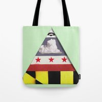 maryland Tote Bags featuring Maryland by Jason Douglas Griffin