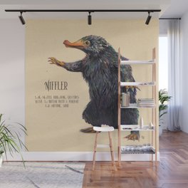 Niffler art Fantastic Beasts Wall Mural