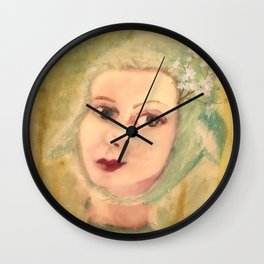 The Story Of A Girl Wall Clock