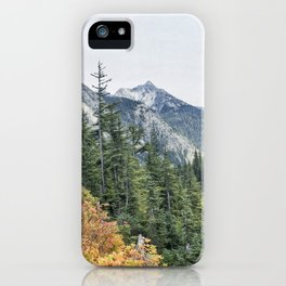 Northern Cascade Mountains iPhone Case